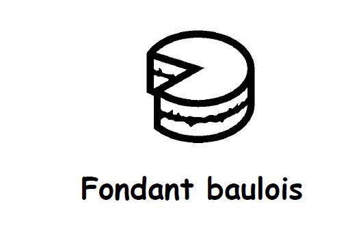 Fondant baulois